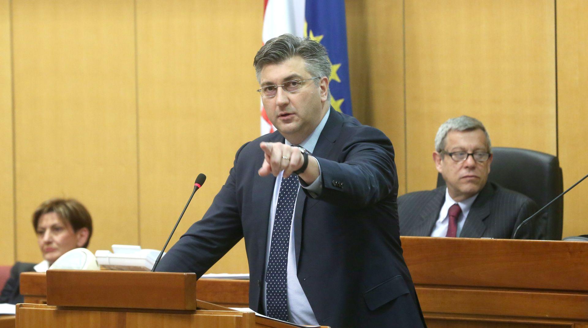 Plenković: Očekujem od Srbije da osudi incident