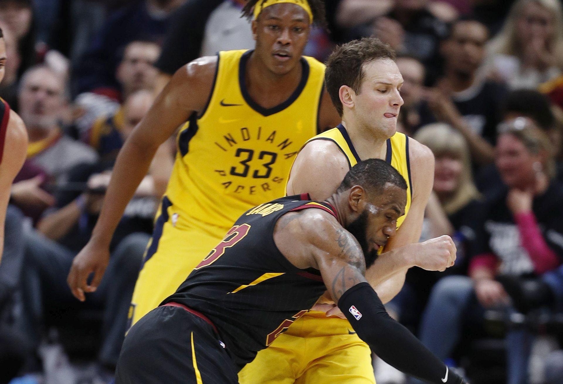 NBA Cleveland, Toronto i Utah vode, Houston u drugom krugu