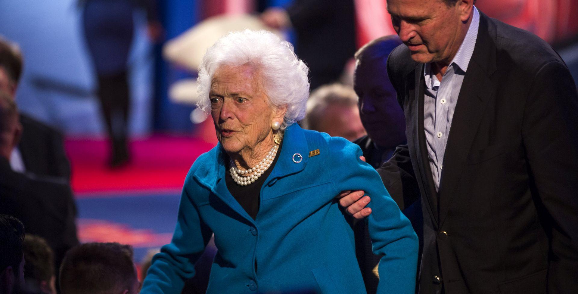 Preminula bivša prva dama SAD-a Barbara Bush