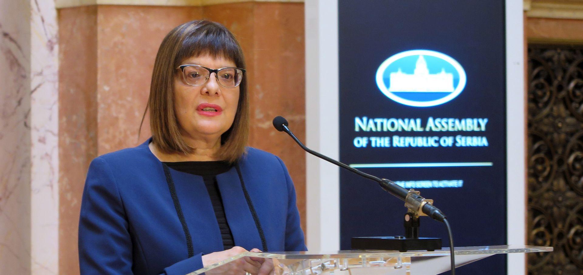 Gojković osudila Šešeljev incident