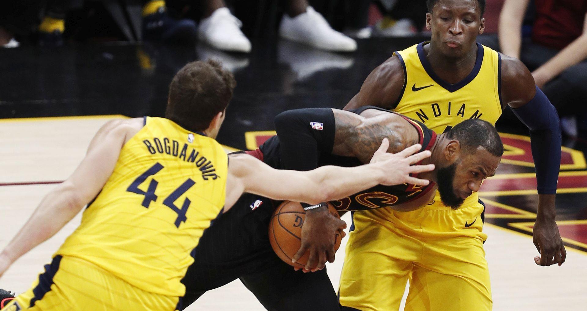 NBA PLAYOFF Bogdanovićeva Indiana nemoćna protiv Jamesa