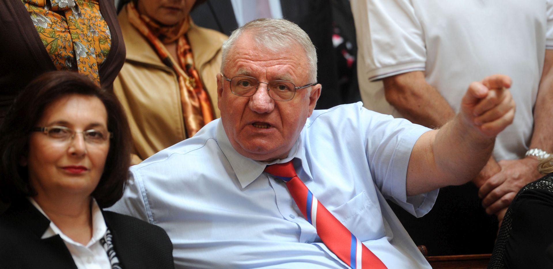 Šešelj ne odustaje od okupljanja radikala u Hrtkovcima 6. svibnja