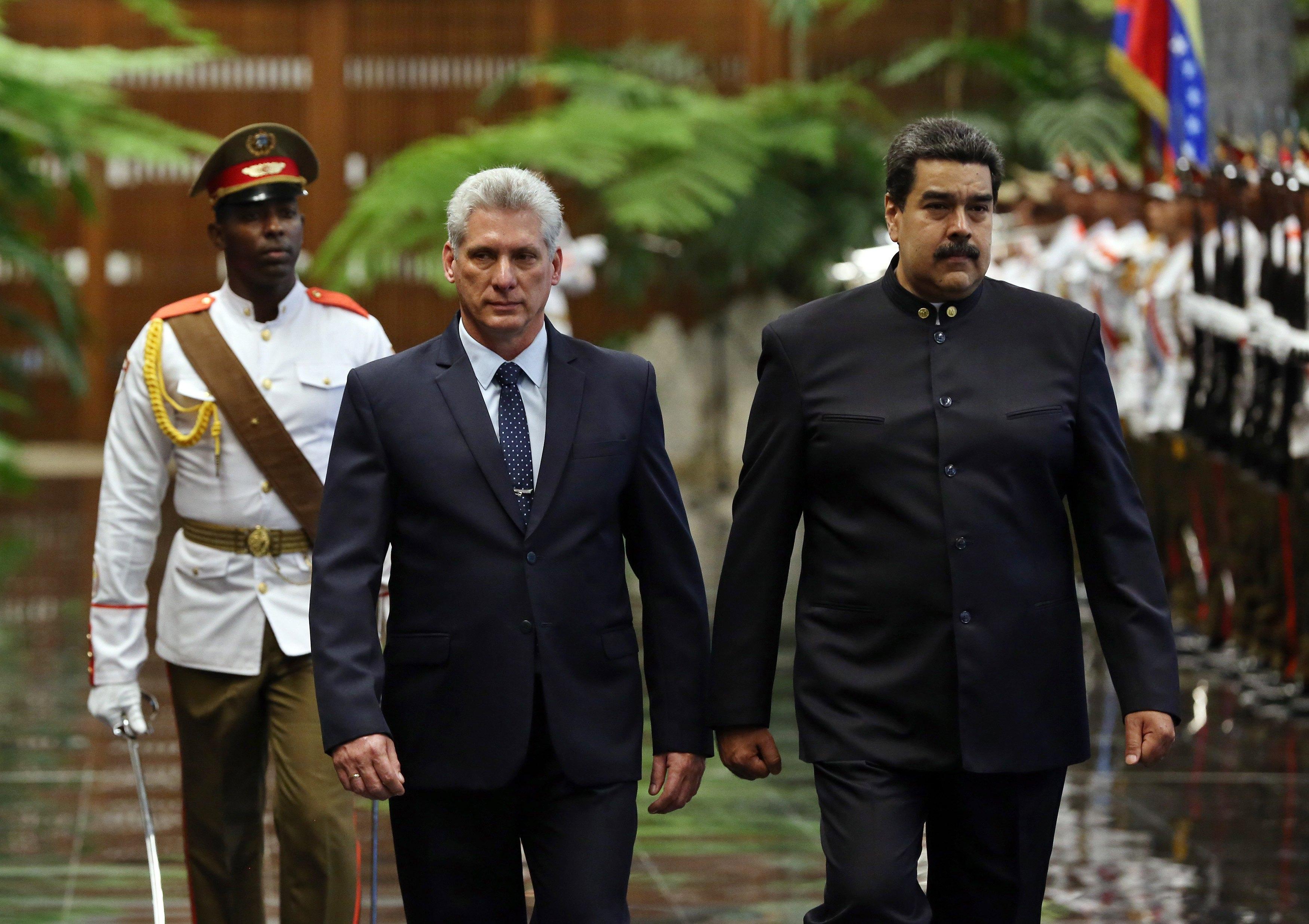 Maduro prvi strani državnik u posjetu novom kubanskom čelniku