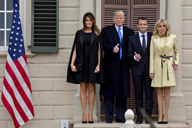 Macron i Trump o savezništvu i prijateljstvu dviju zemalja