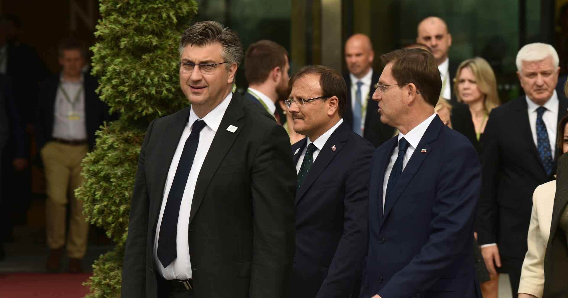 U Sloveniji počeo sastanak na vrhu SEECP-a, stigao i Plenković