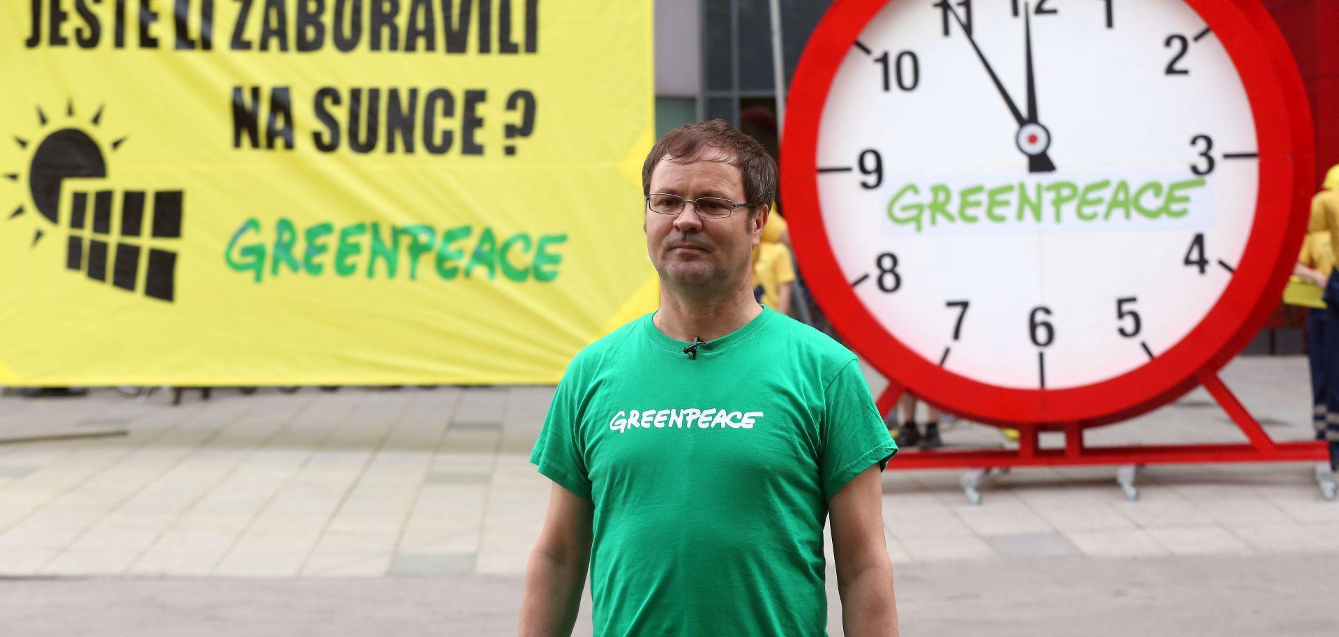 """Greenpeace poziva ministra Ćorića da """"otkrije sunce"""""""