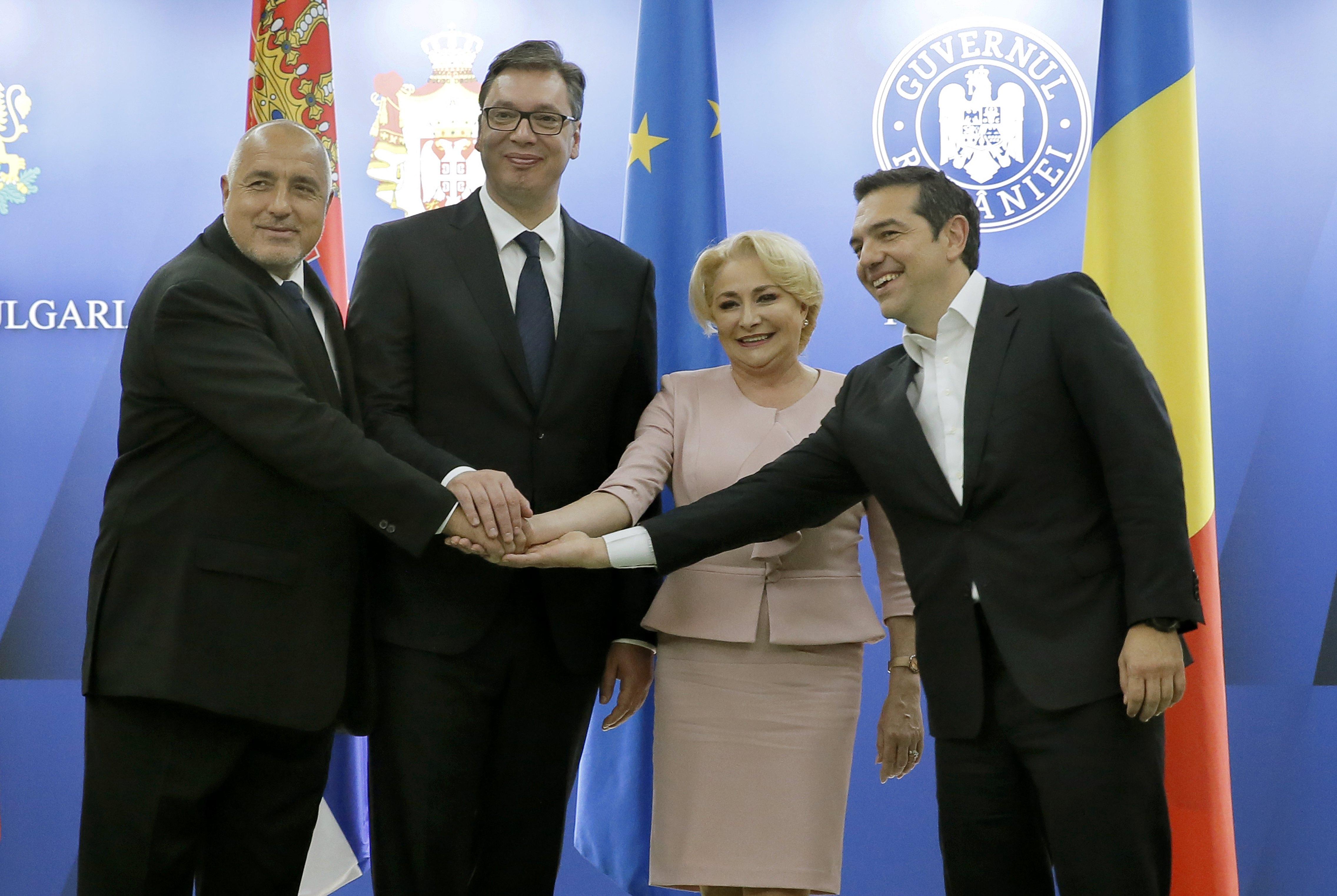BUKUREŠT Vučić na kvadrilaterali dobio potporu za EU