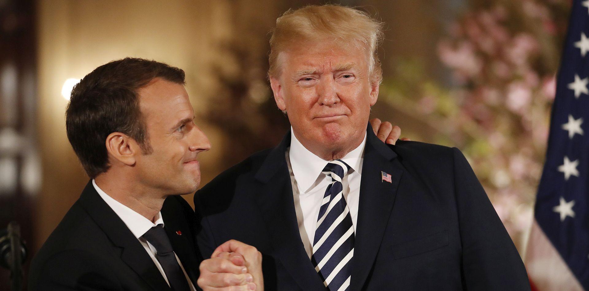 """NEW YORK TIMES """"Trump rekao Macronu da će se povući iz iranskog sporazuma """""""
