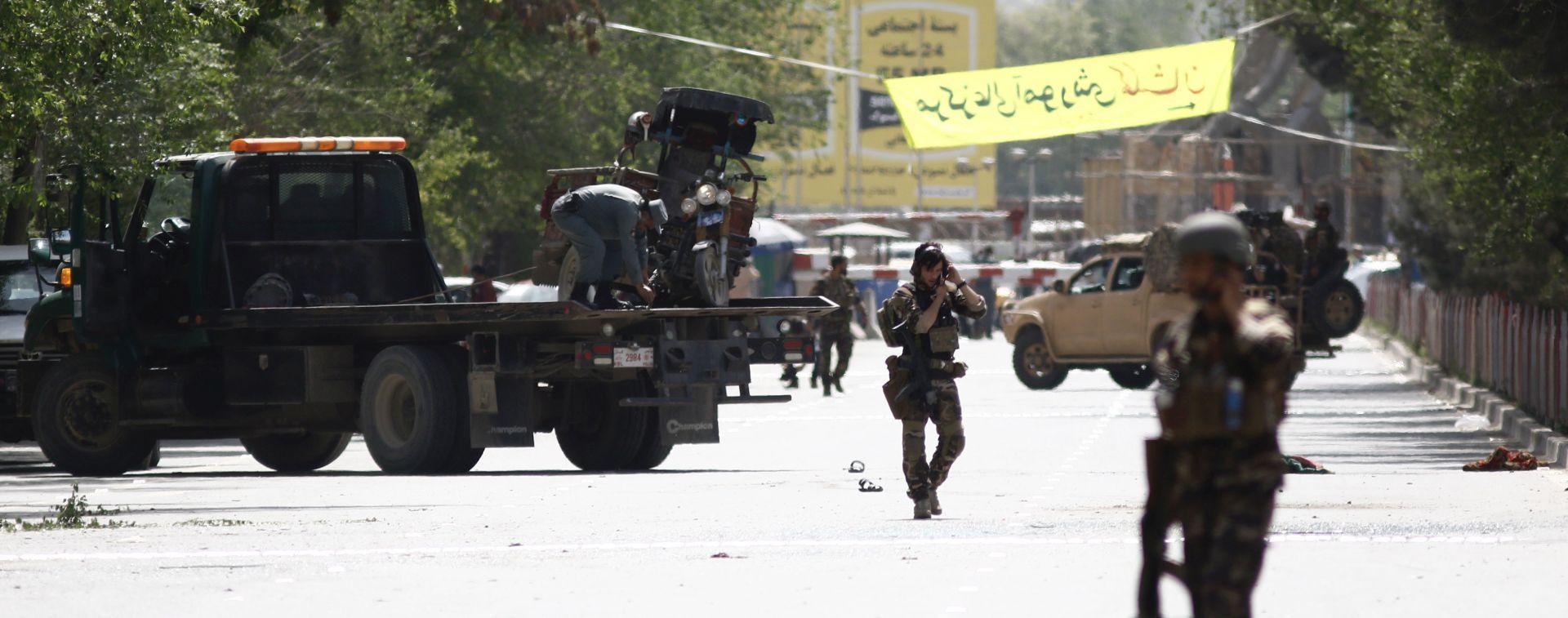 U napadu u Kabulu ubijeno najmanje osam novinara