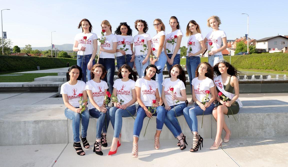 FOTO: Prekrasne kandidatkinje se natječu za titulu Kraljica Zagreba