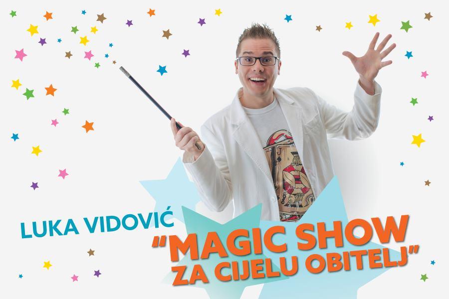 Mađioničar Luka Vidović ponovno dolazi u KD Lisinski