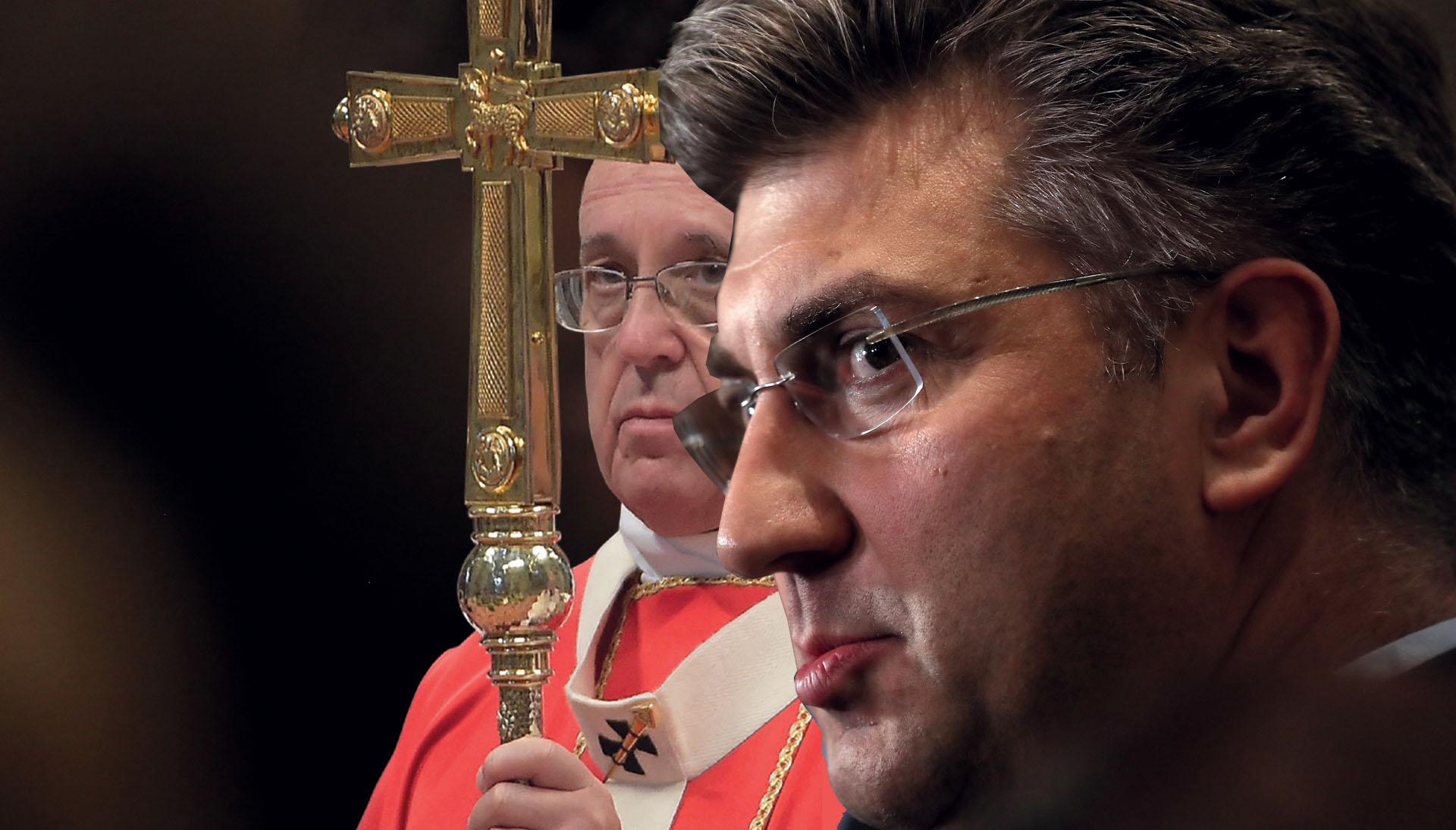 EKSKLUZIVNO 'Plenković započinje specijalnu operaciju u srcu Vatikana'