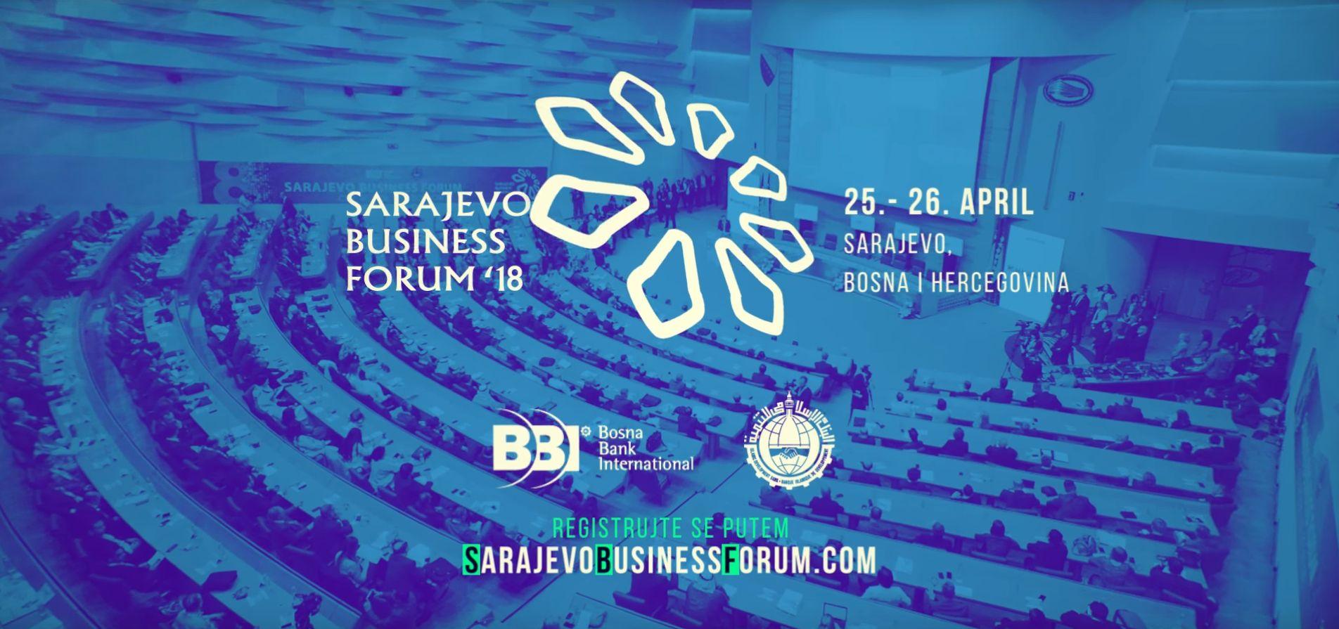 Najavljene teme i paneli devetog Sarajevo Business Foruma 2018
