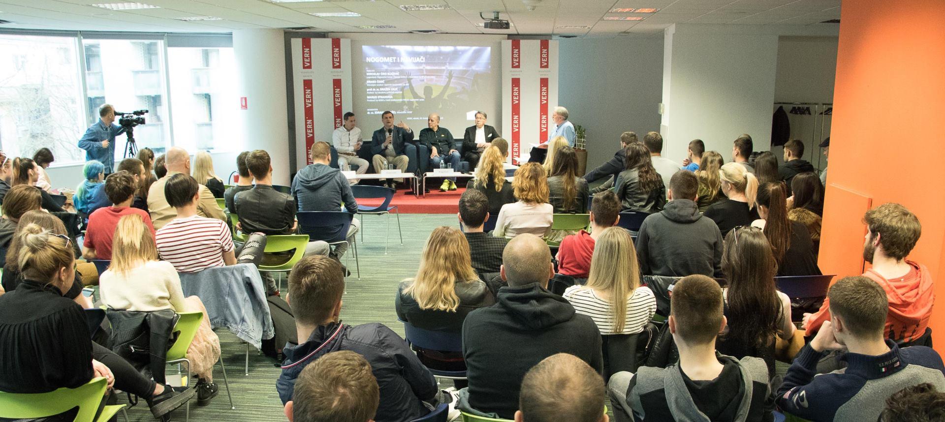 VERN' Održan panel 'Nogomet i navijači: Manje navijačkih nereda, zbog manjka gledatelja'