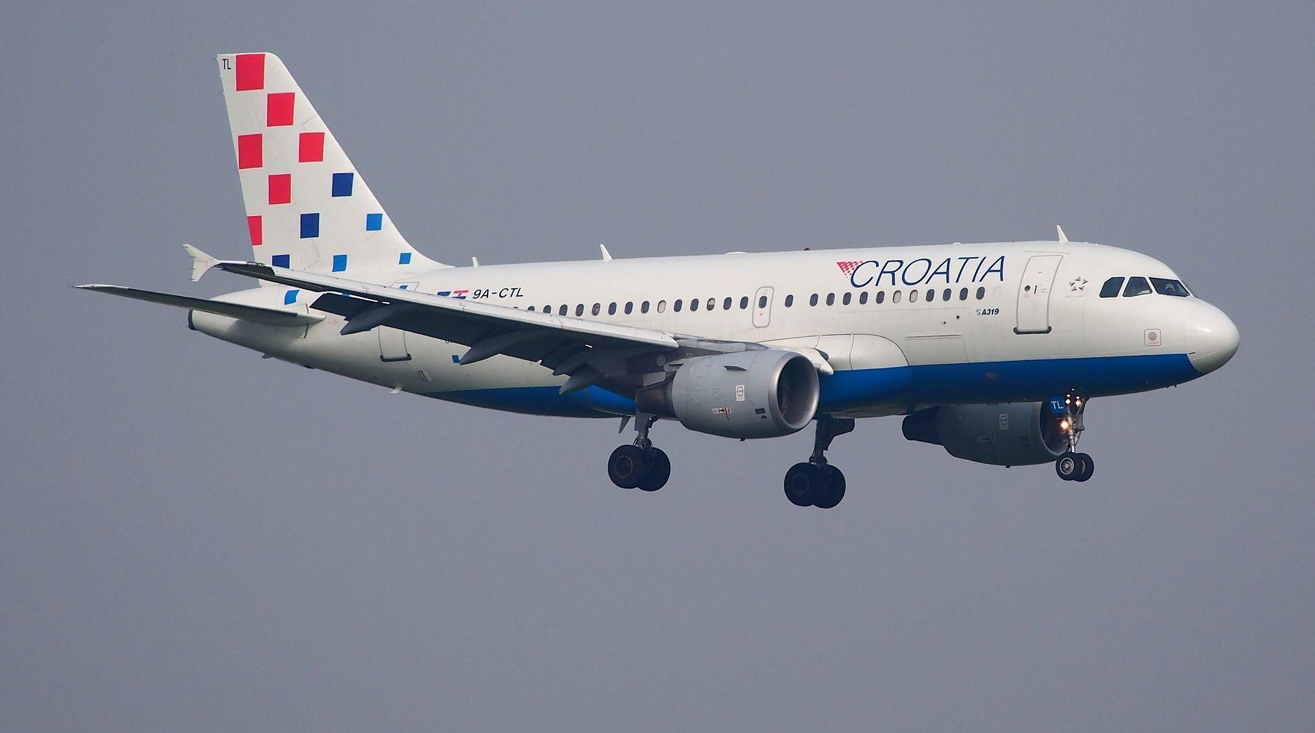 Gubitak Croatia Airlinesa gotovo 80 milijuna kuna