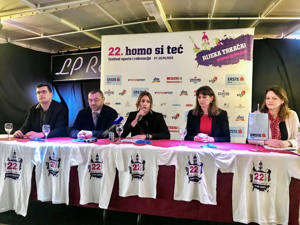 Traje riječki 22. Festival sporta i rekreacije 'Homo si teć'