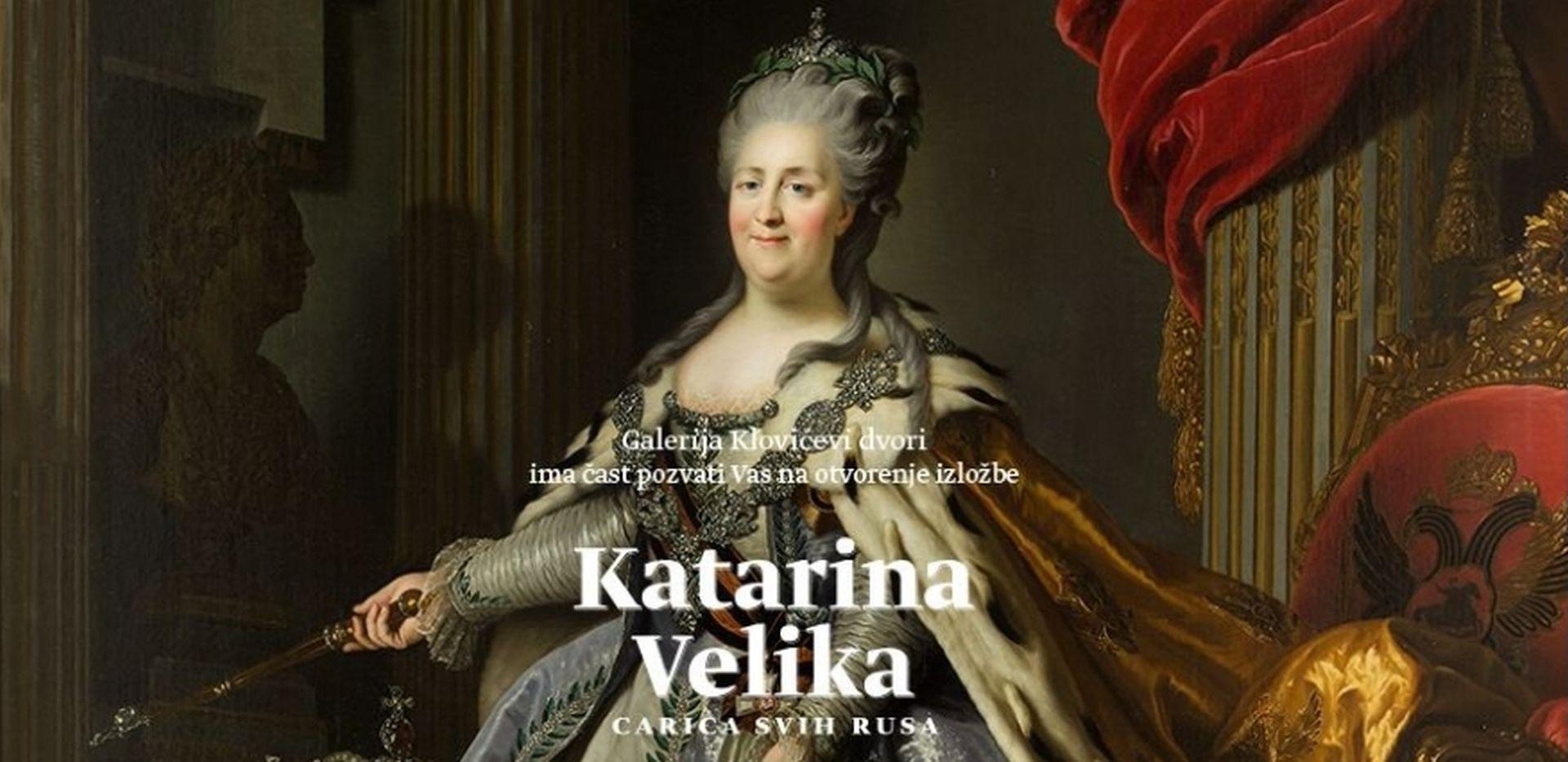 Izložba o Katarini Velikoj od četvrtka u Galeriji Klovićevi dvori