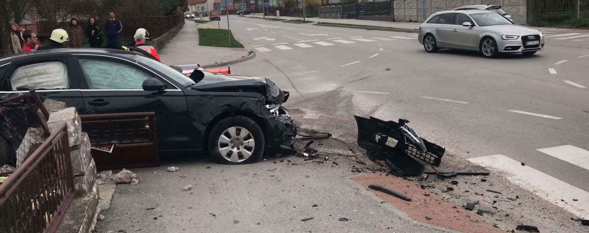 Teška nesreća u Koprivnici, jedna osoba teško ozlijeđena