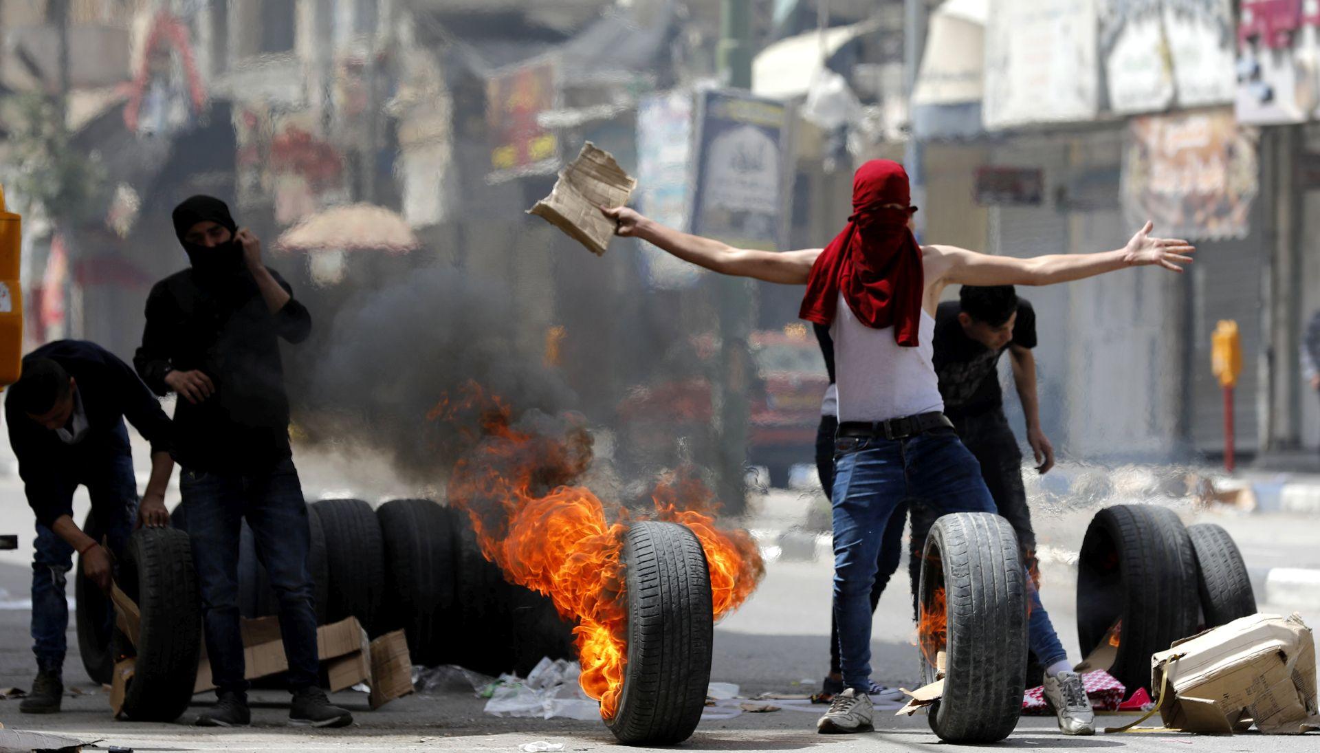 Burno na granici Gaze i Izraela