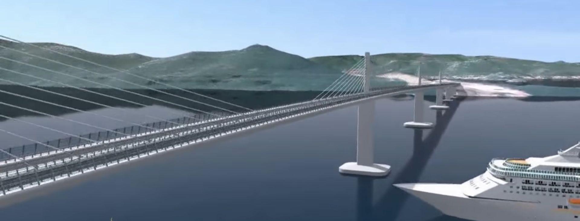 Danas potpisivanje ugovora o izgradnji Pelješkog mosta