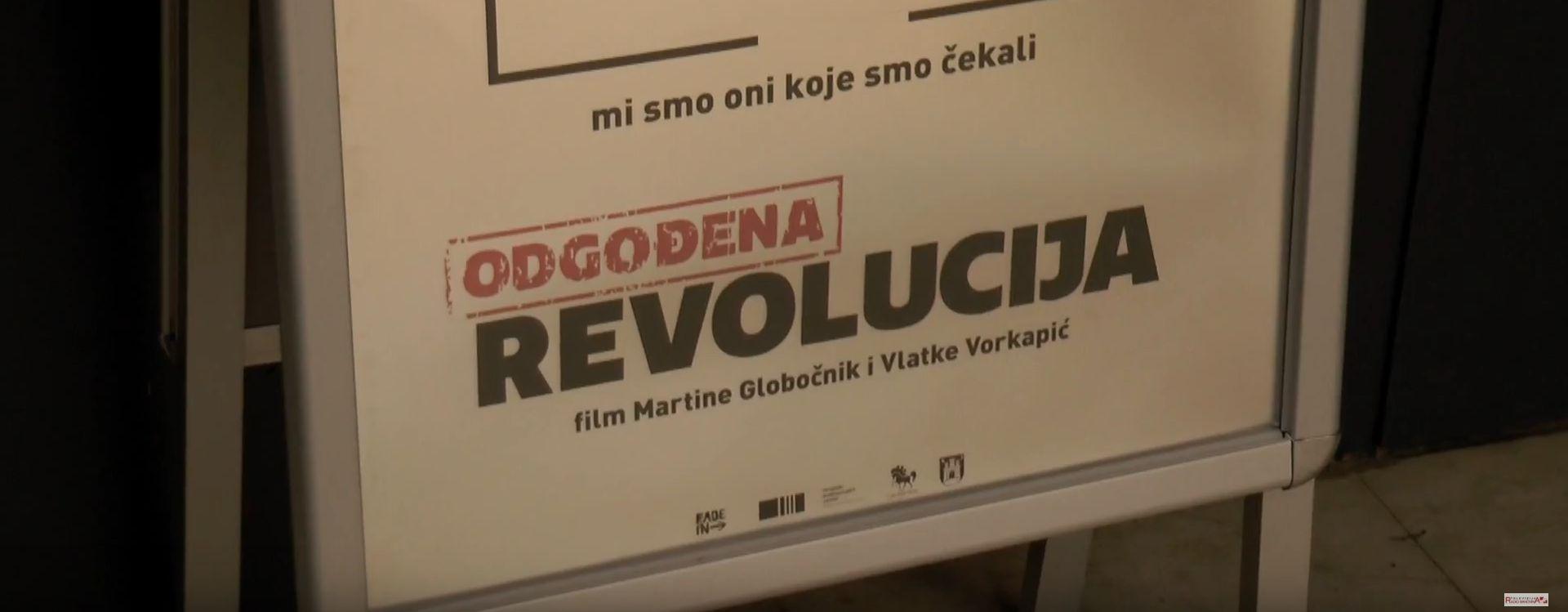 Premijera 'Odgođene revolucije' u riječkom Art-kinu