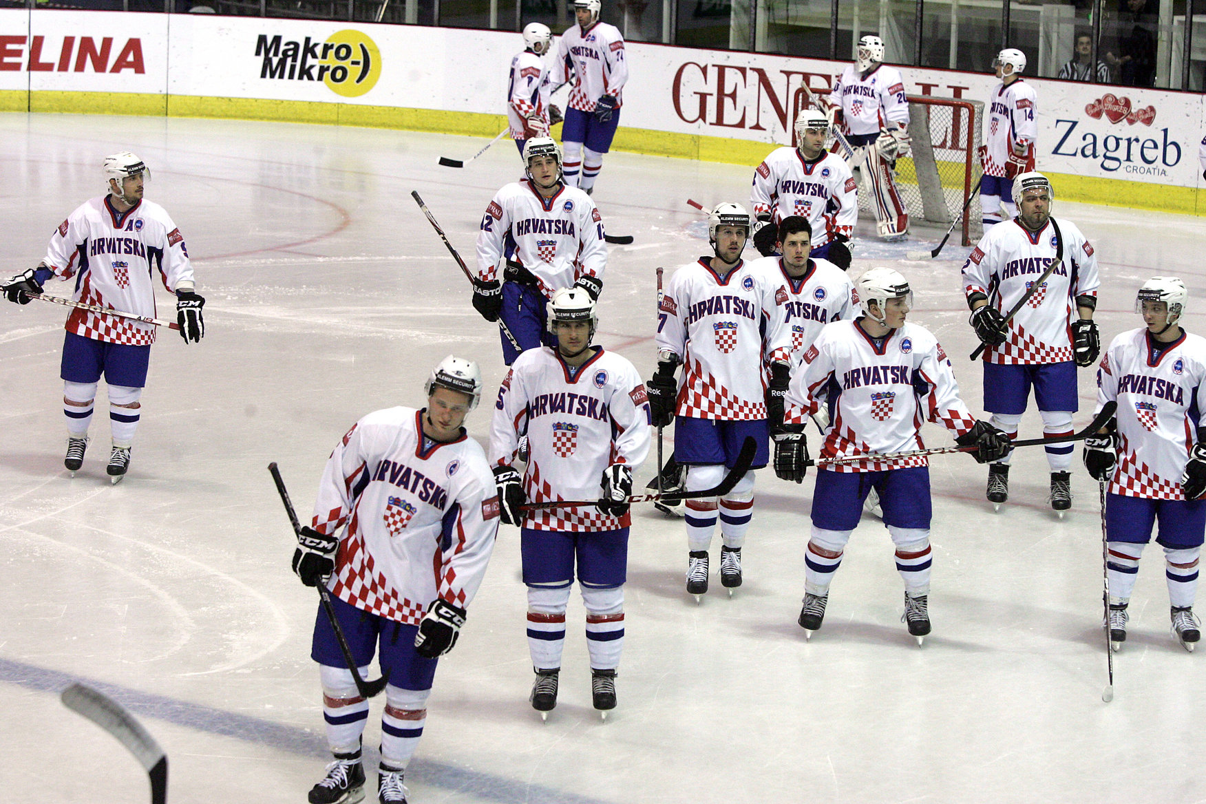 SP hokej na ledu: Hrvatska – Estonija 1-5