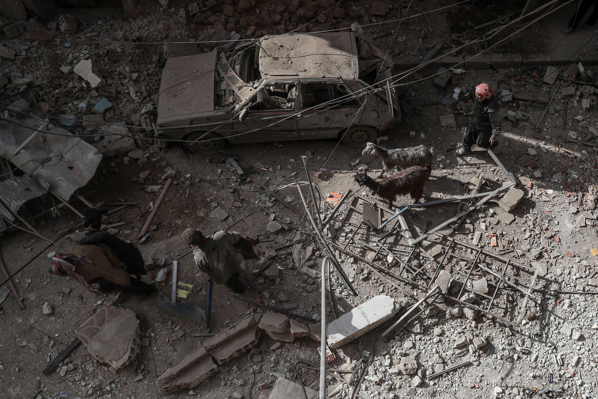 Sirijski pobunjenici ovlače teško oružje iz tampon zone
