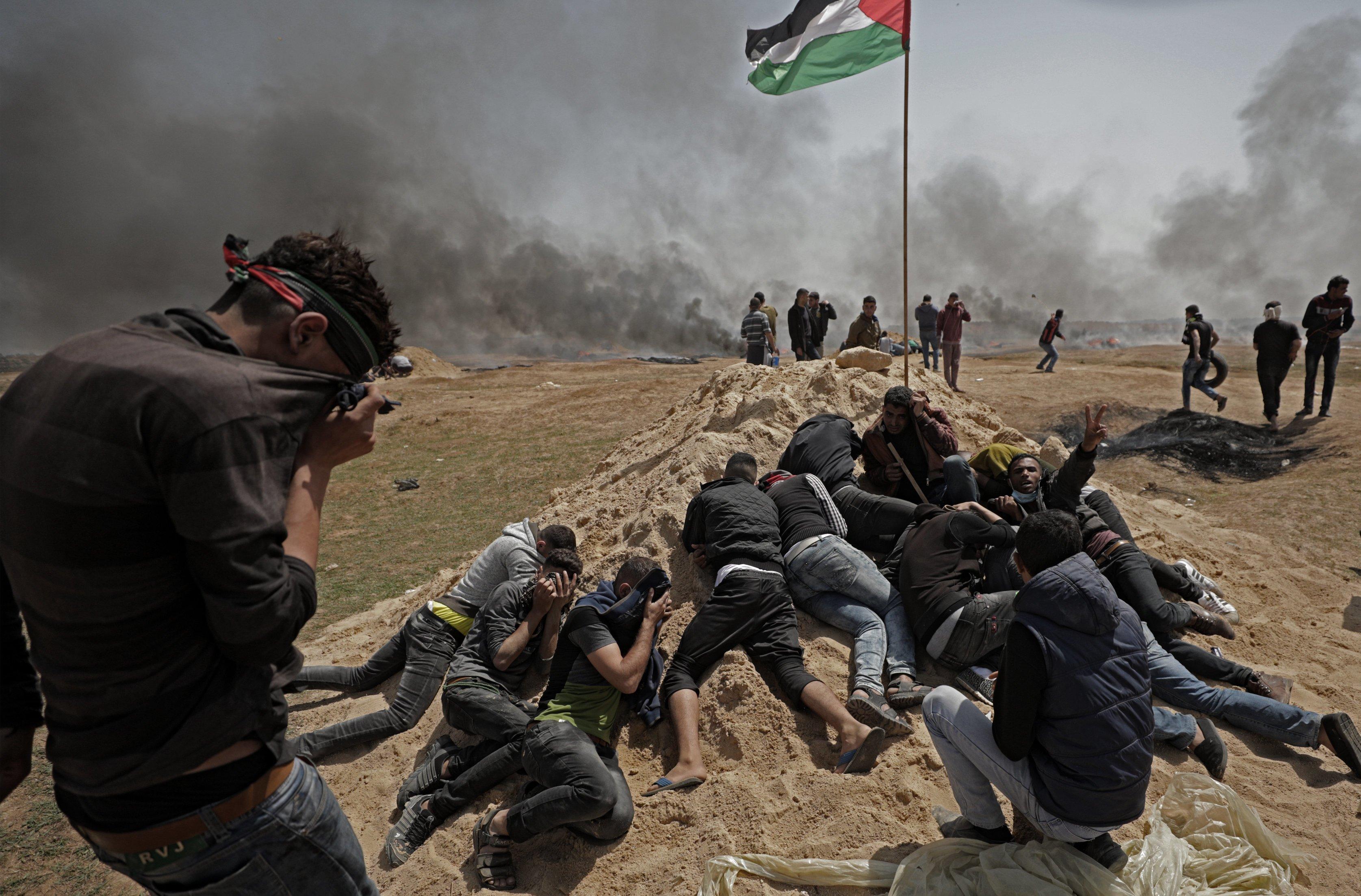 MASAKR U GAZI Reagirali SAD, Izrael i Turska