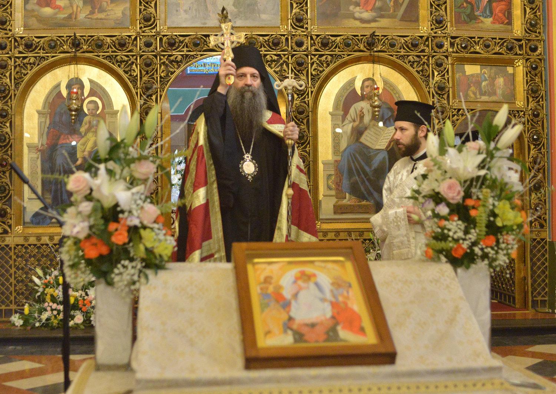 Pravoslavni vjernici proslavili Uskrs u Sabornom hramu u Zagrebu