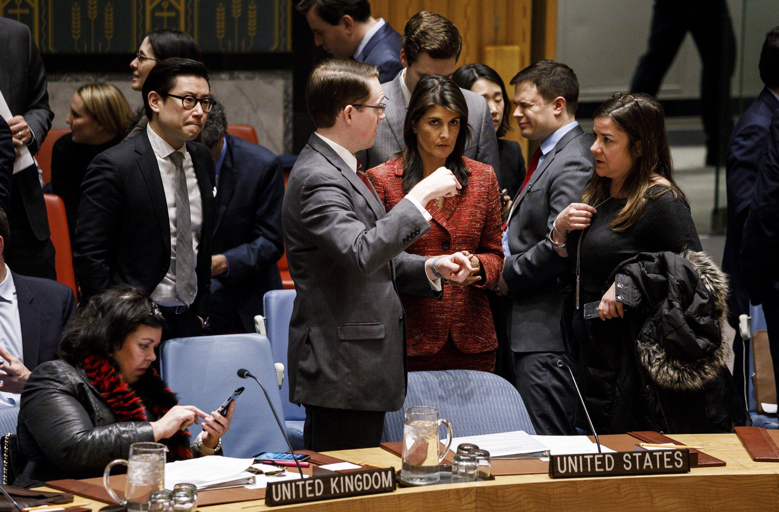 """HALEY """"SAD će uvesti nove sankcije Rusiji zbog Sirije"""""""