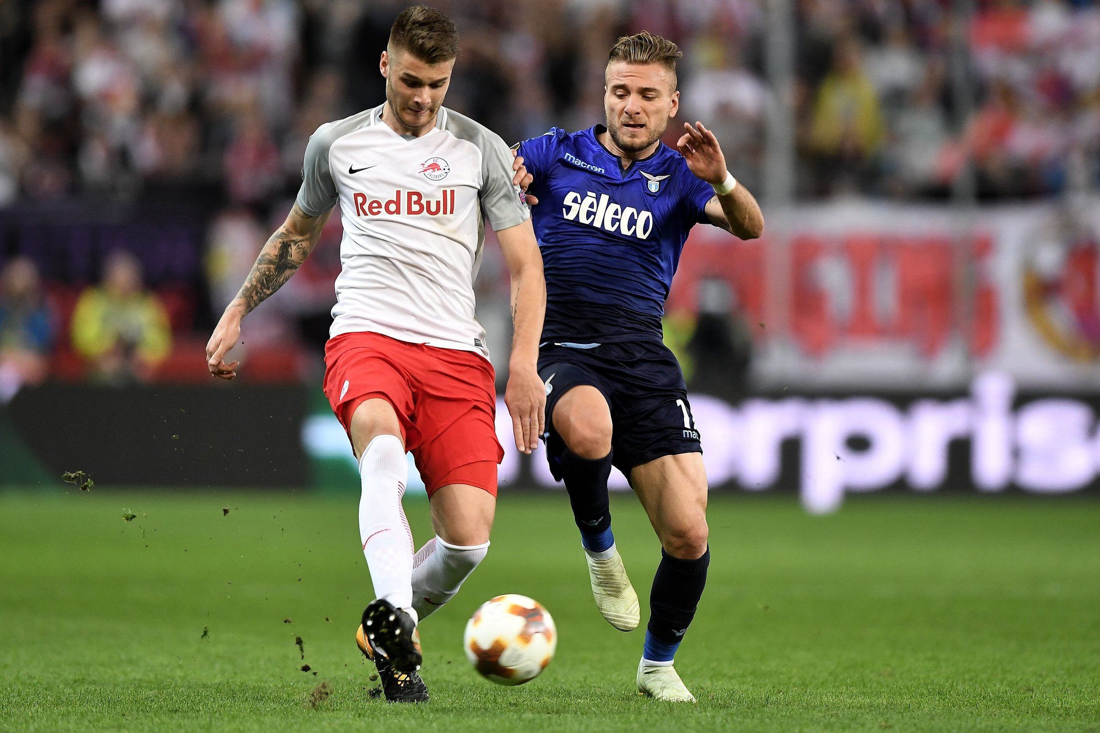 Europska liga: Salzburg šokirao Lazio, Marseille bolji od Leipziga
