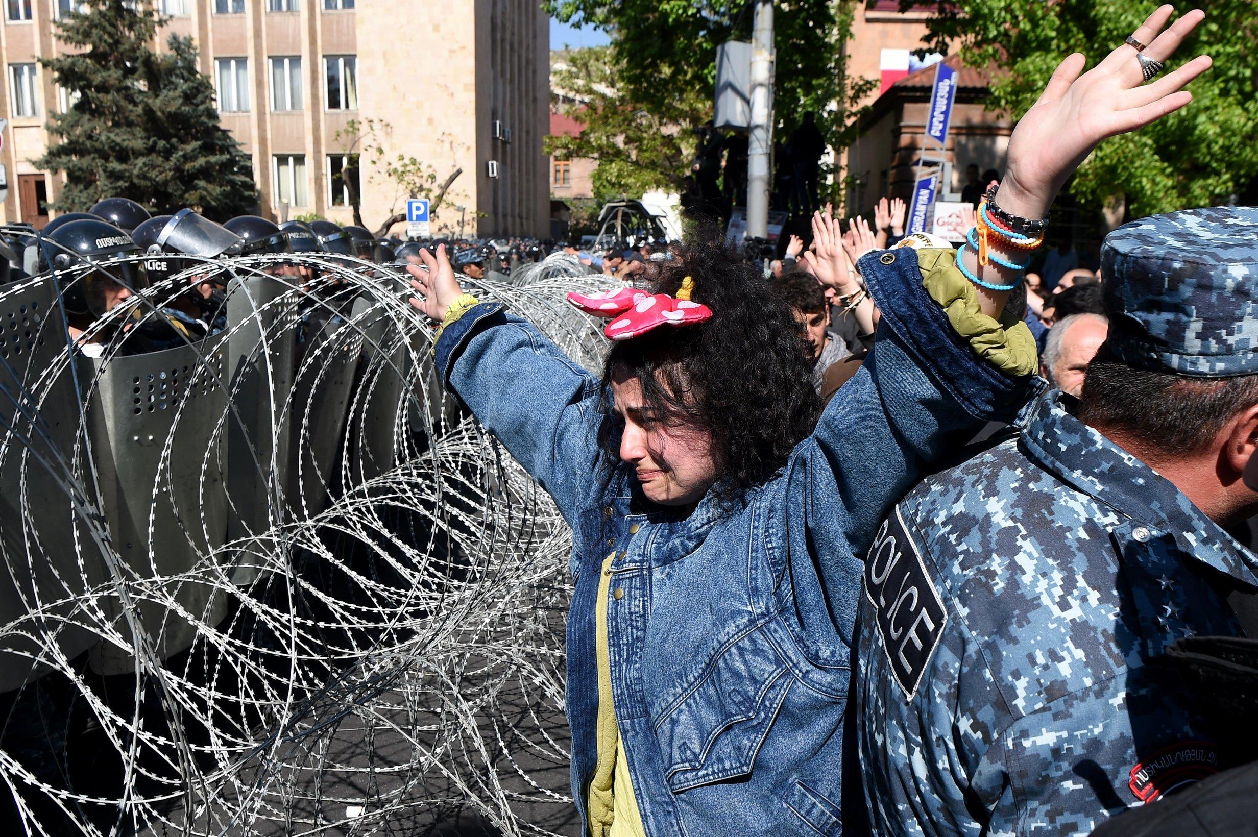 ARMENIJA Tisuće prosvjednika protiv novog premijera