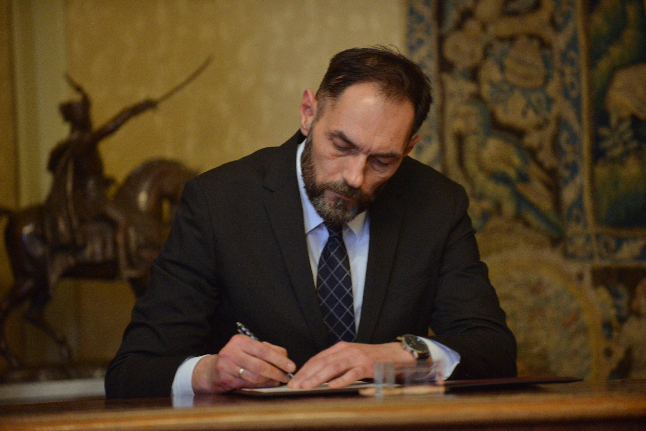 Prisegnuo novi glavni državni odvjetnik Dražen Jelenić