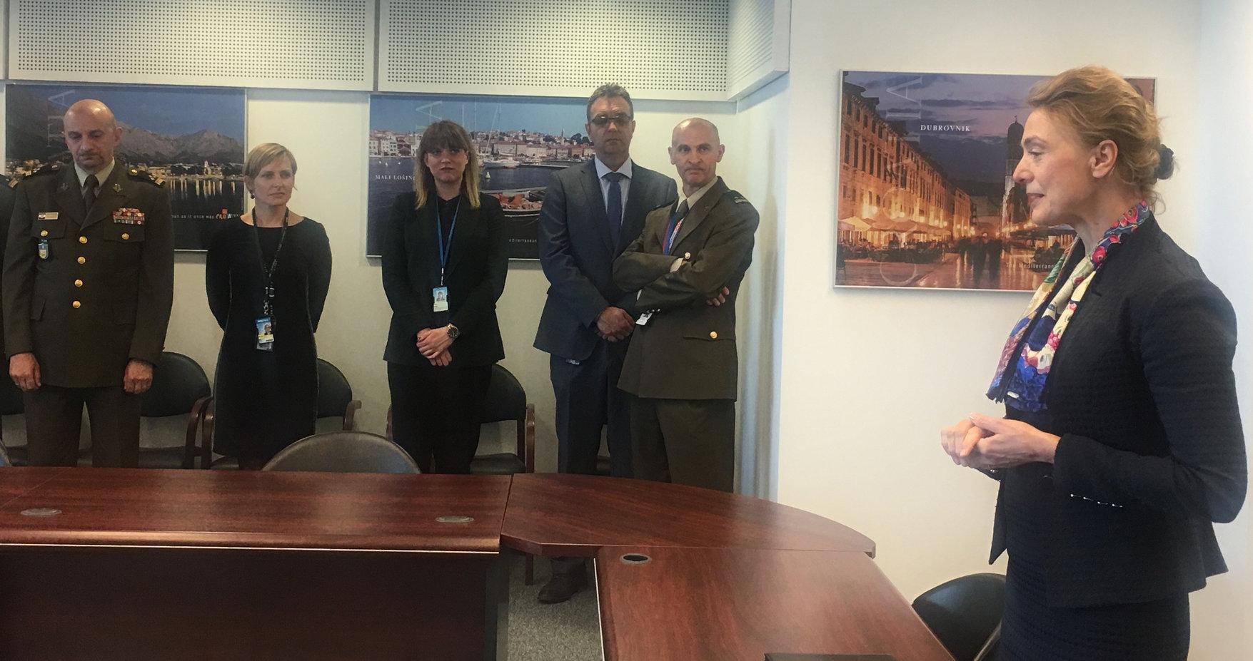 Pejčinović Burić otvorila stalno predstavništvo Hrvatske u novom sjedištu NATO-a