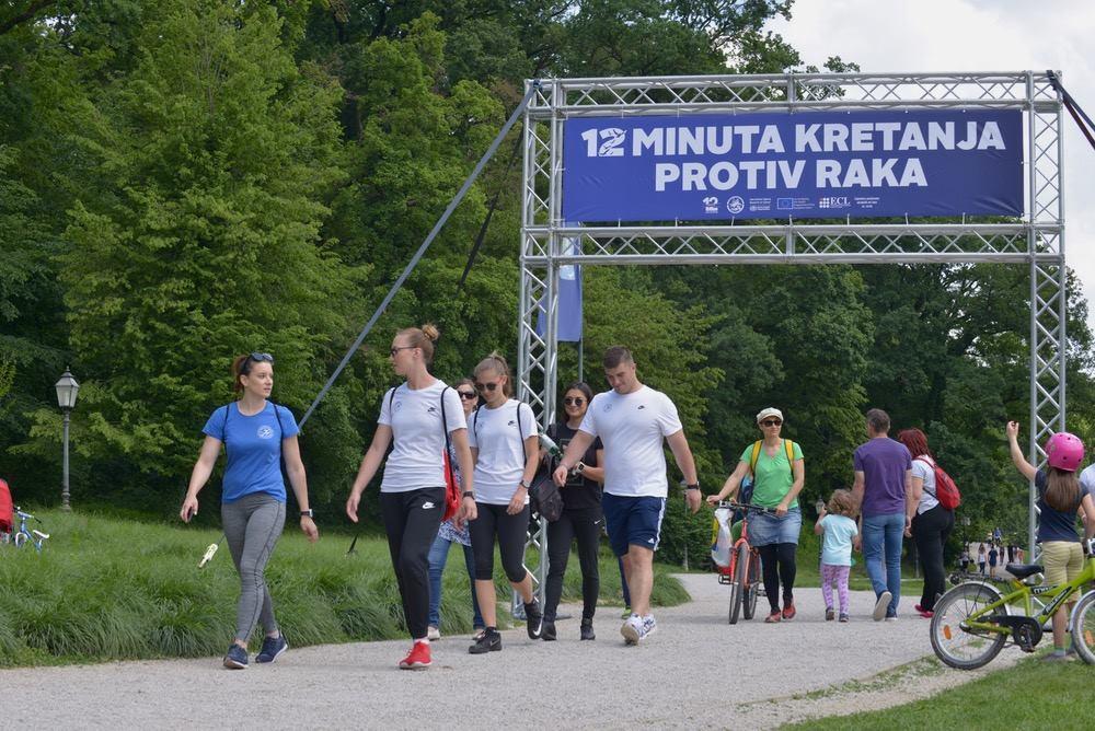 FOTO: Održana javnozdravstvena akcija '12 minuta kretanja protiv raka'