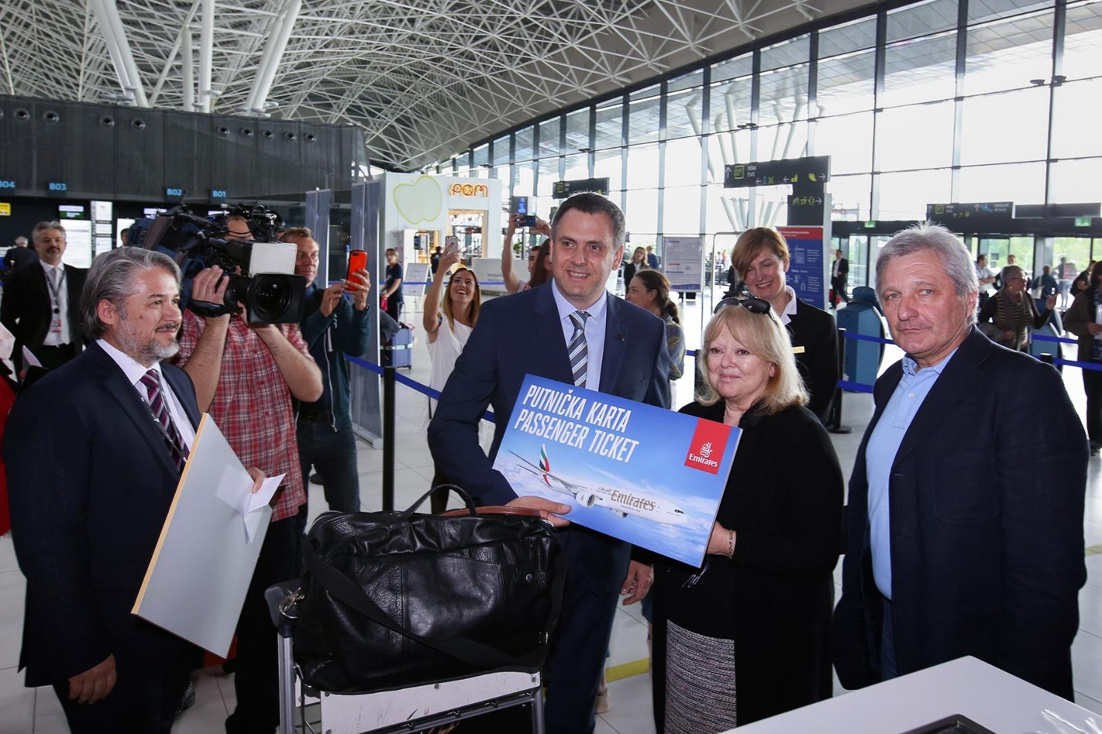 Zračna luka Franjo Tuđman ove godine ranije nego ikad u povijesti dočekala milijuntu putnicu