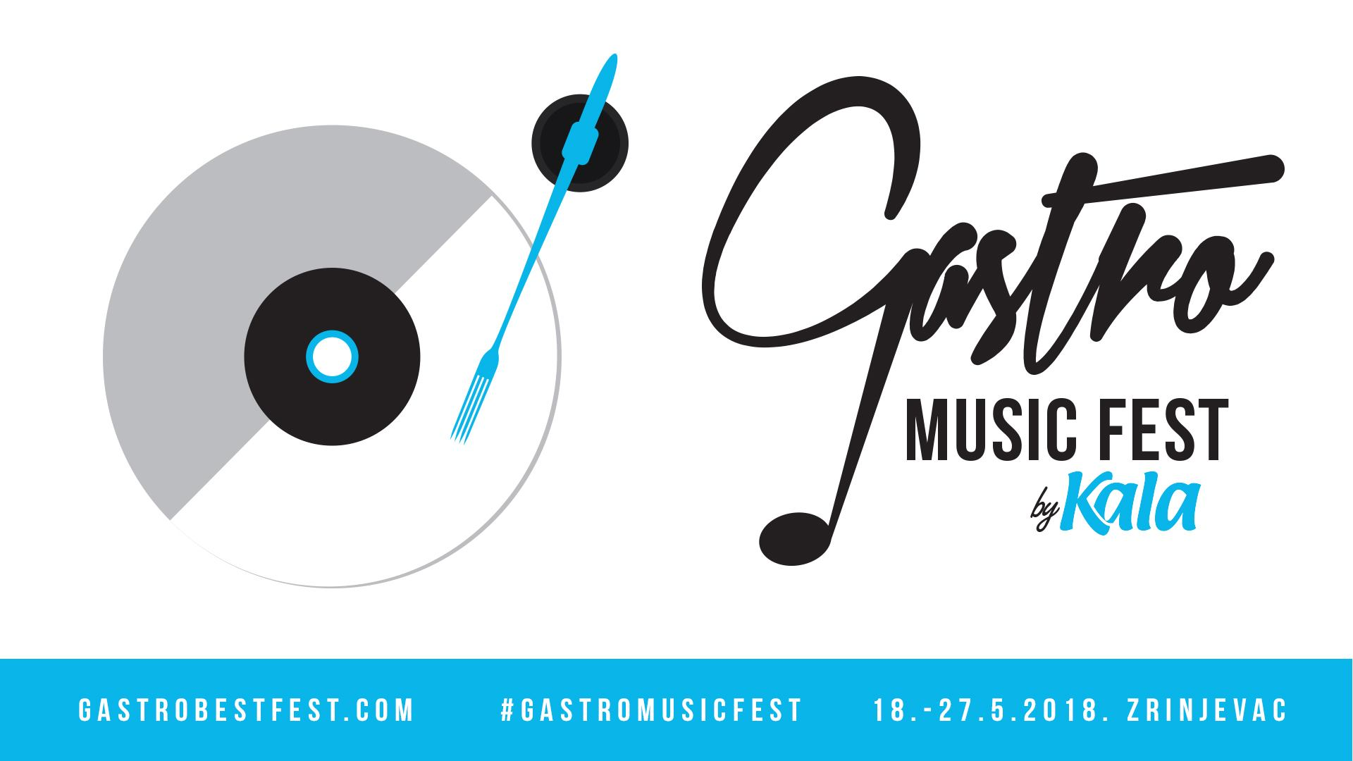 Zadnji dan Gastro Music Festa u zagrebačkom parku Zrinjevac