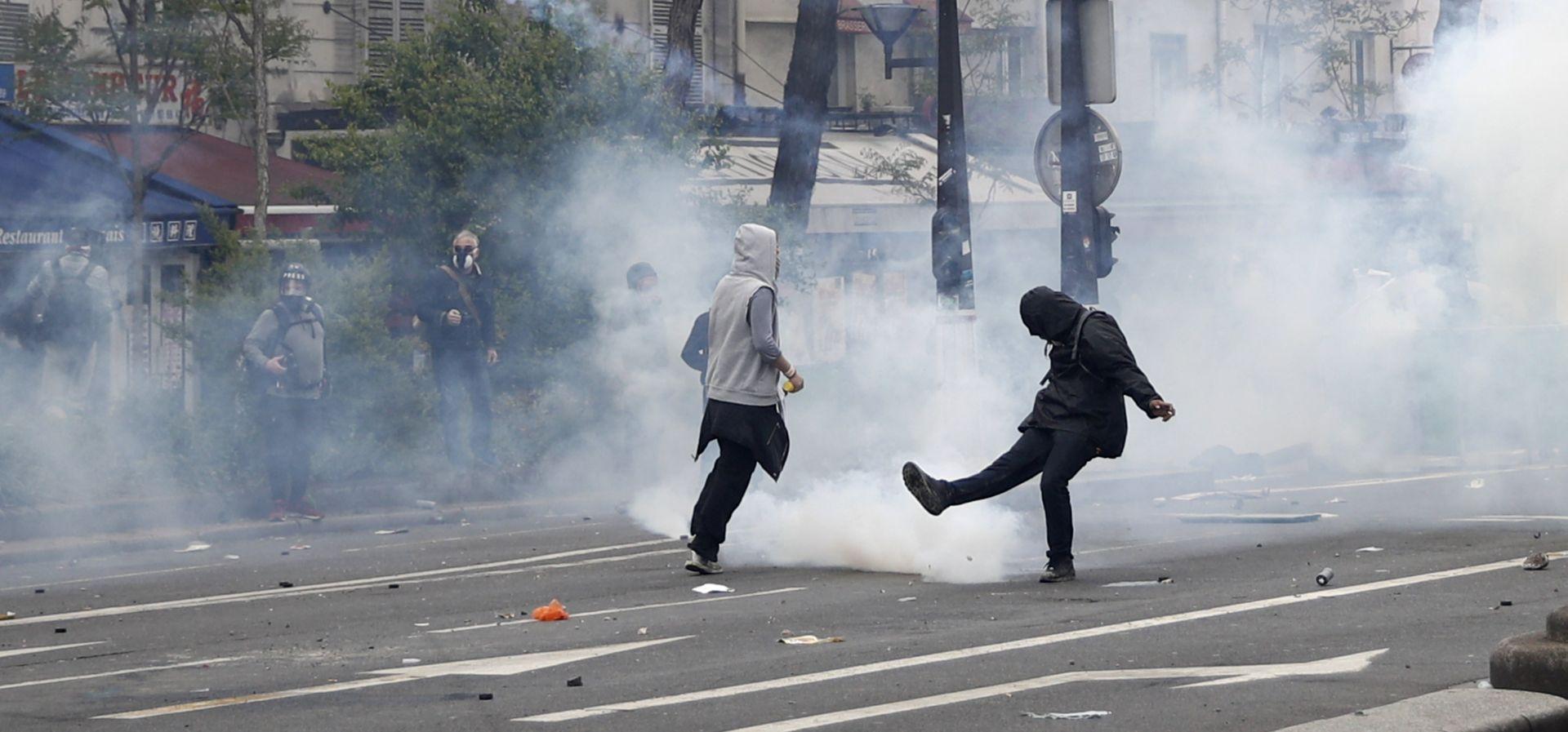 Više od 100 uhićenih u Francuskoj nakon prosvjeda 1. svibnja