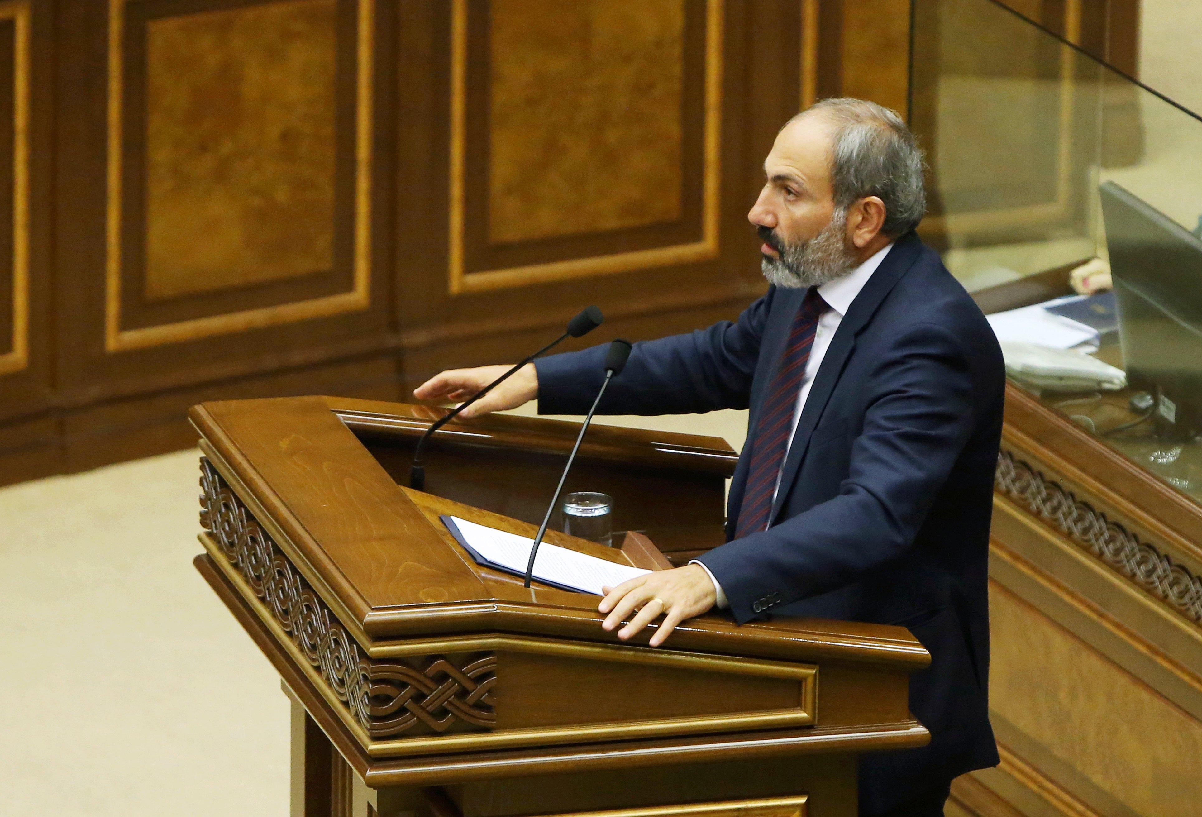Čelnik oporbe Armenije nije izabran za premijera