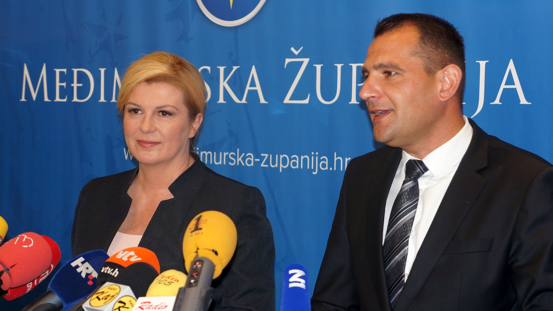 Predsjednica Republike razgovarala s vodstvom Međimurske županije