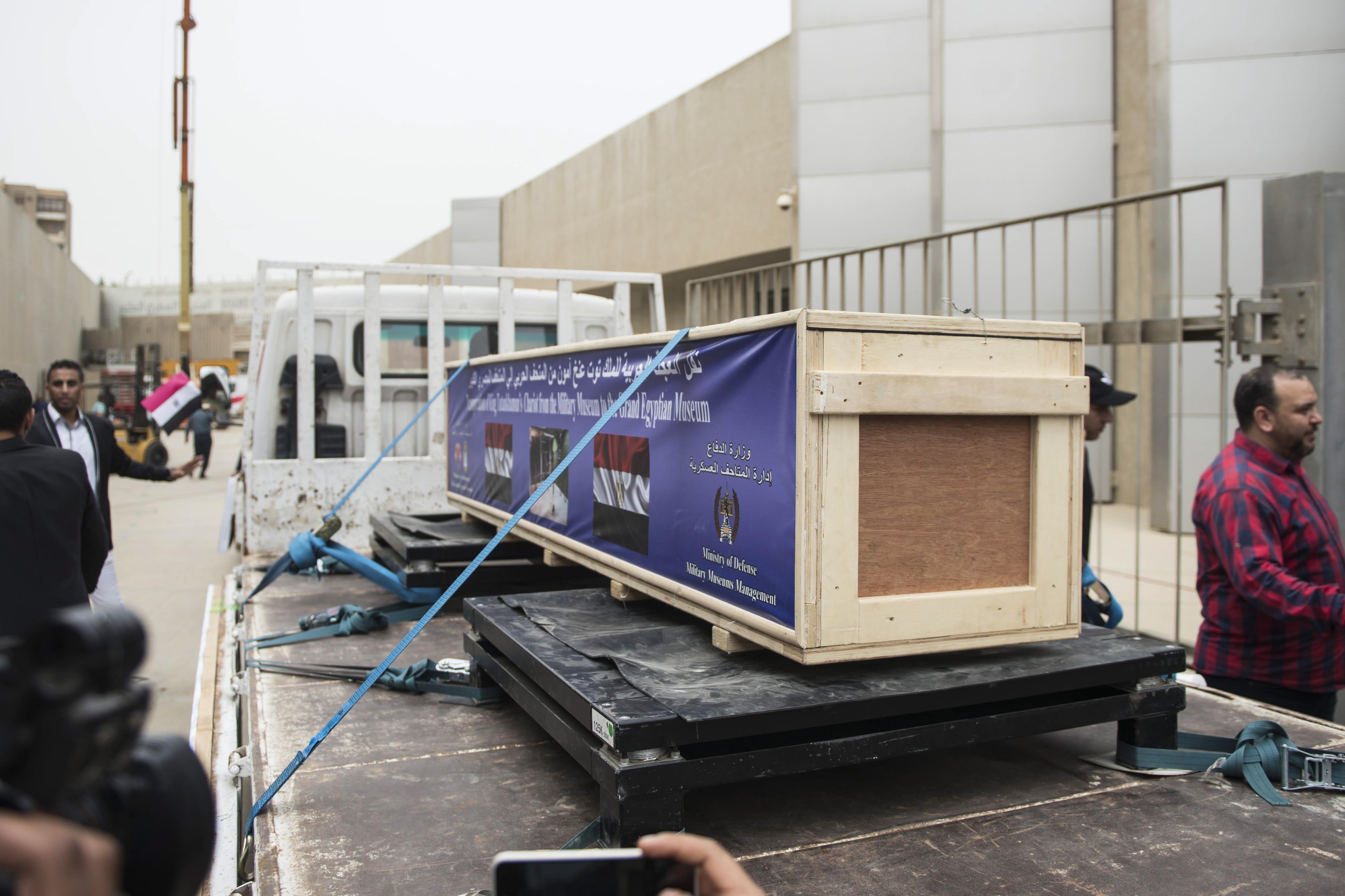 Tutankamonove kočije preseljene u novi egipatski muzej