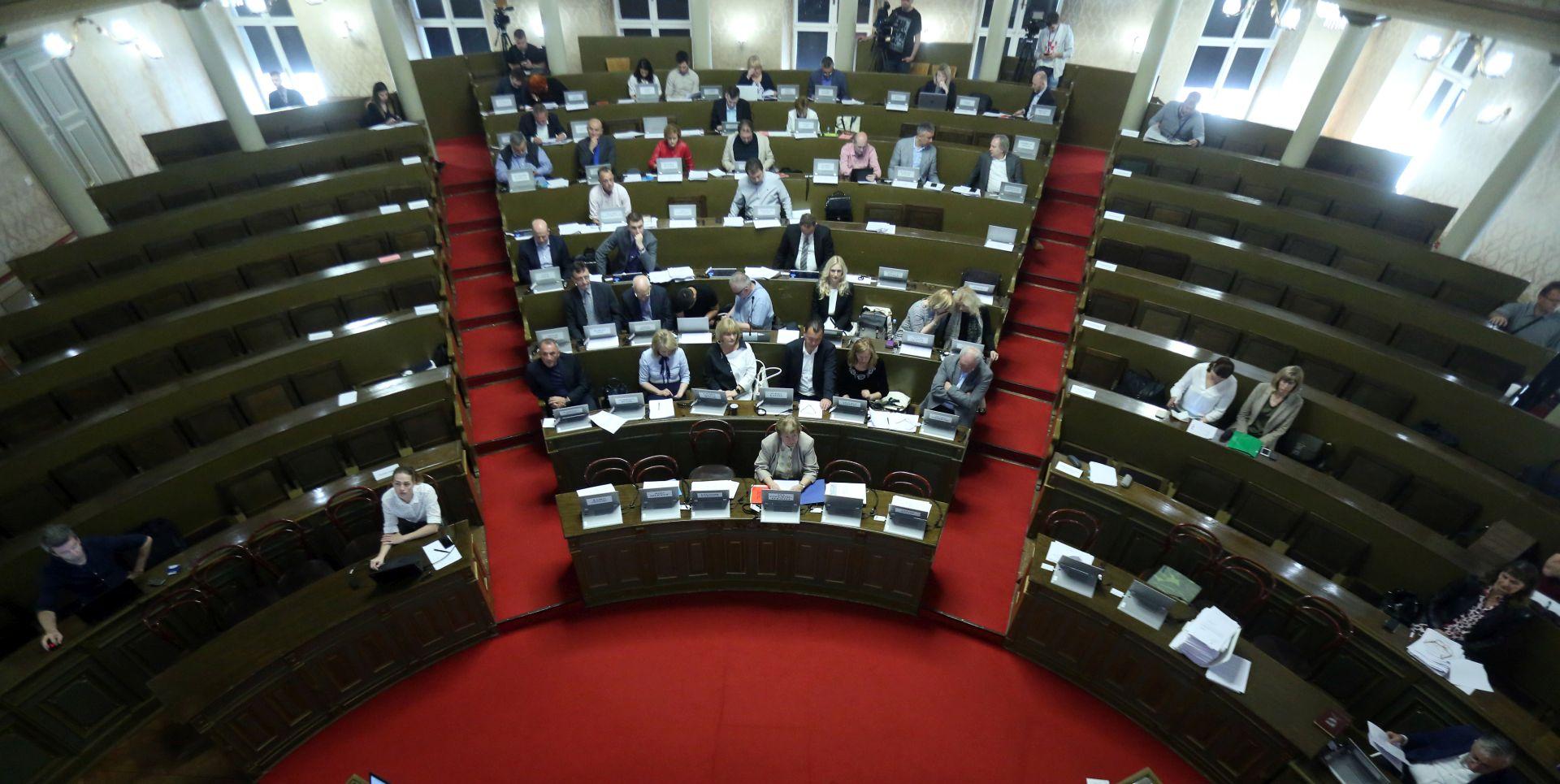 Nastavljena 11. sjednica zagrebačke Gradske skupštine