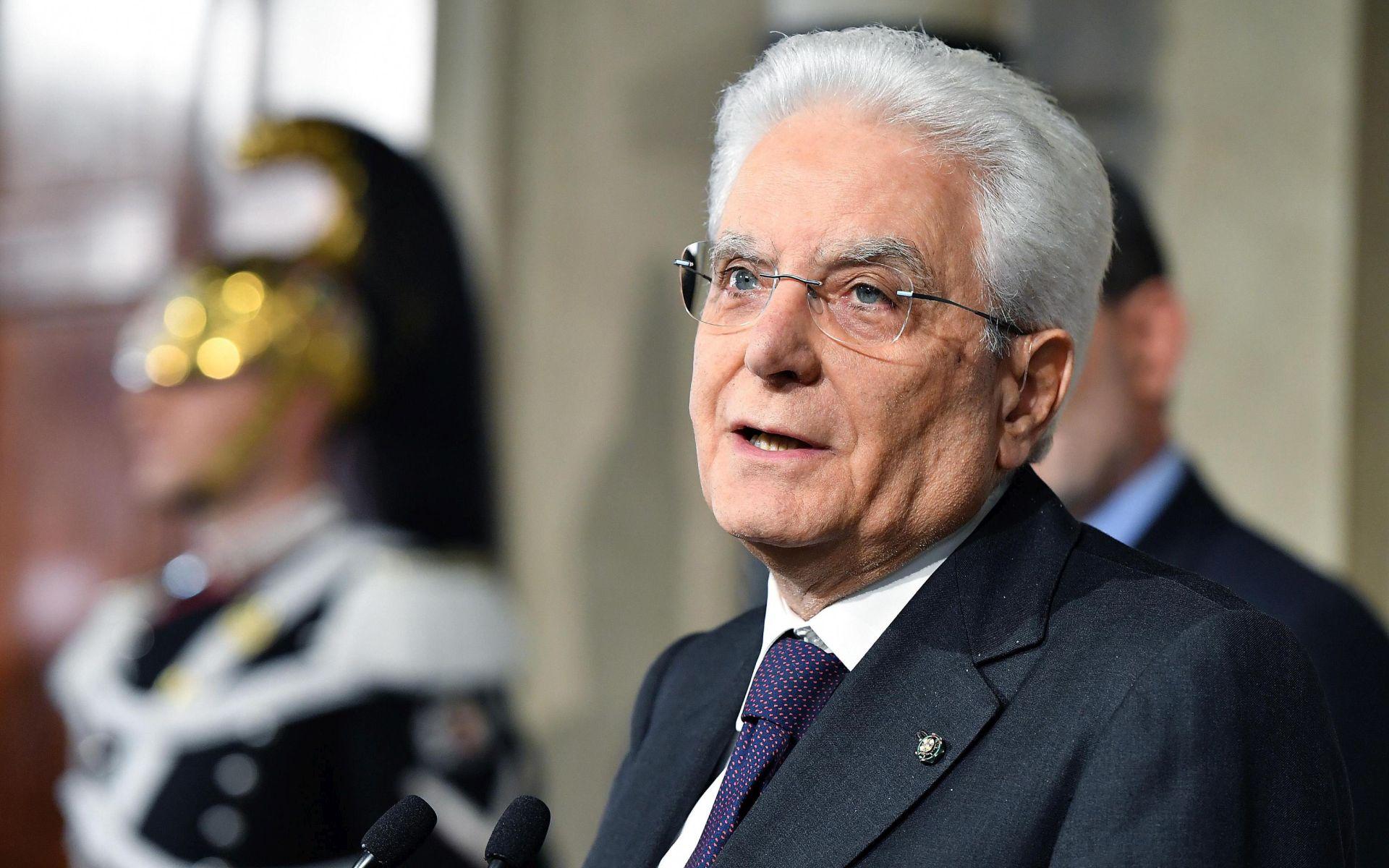 Italiji u krizi, Mattarella pod pritiskom