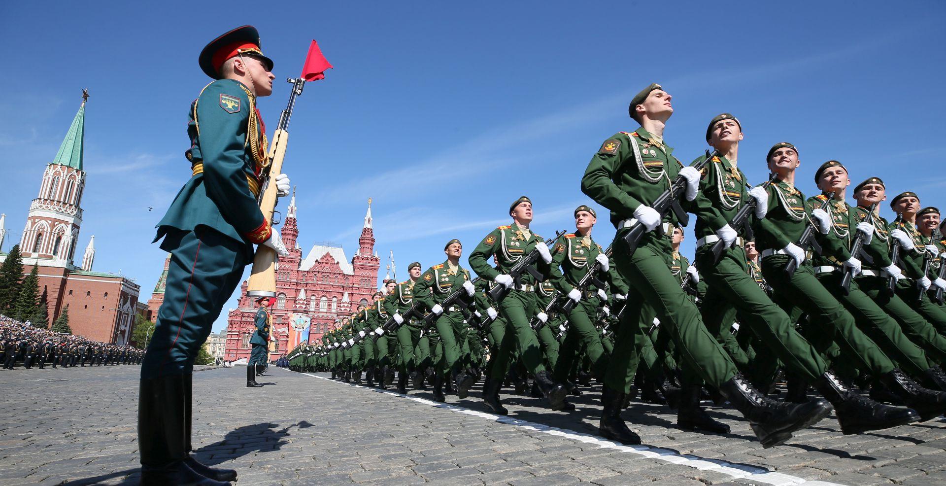 Rusija vojnom paradom proslavila pobjedu nad nacističkom Njemačkom