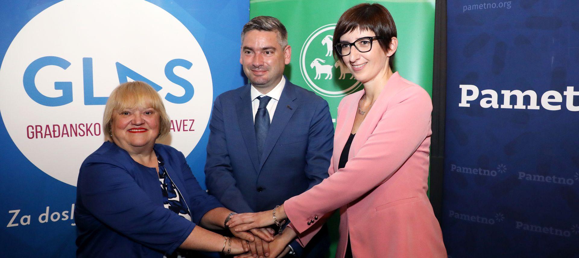 GLAS, IDS i Pametno potpisali izjavu o suradnji