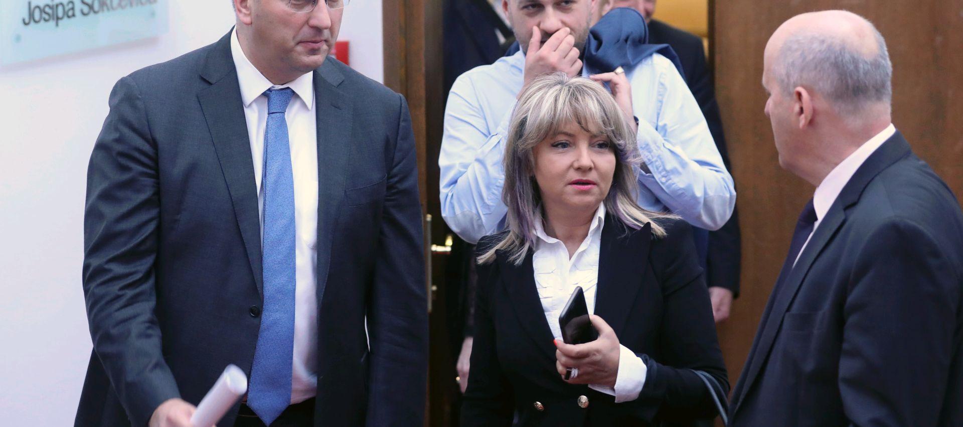 Glavak u Saboru umjesto Horvata, traži se novi glasnogovornik Vlade