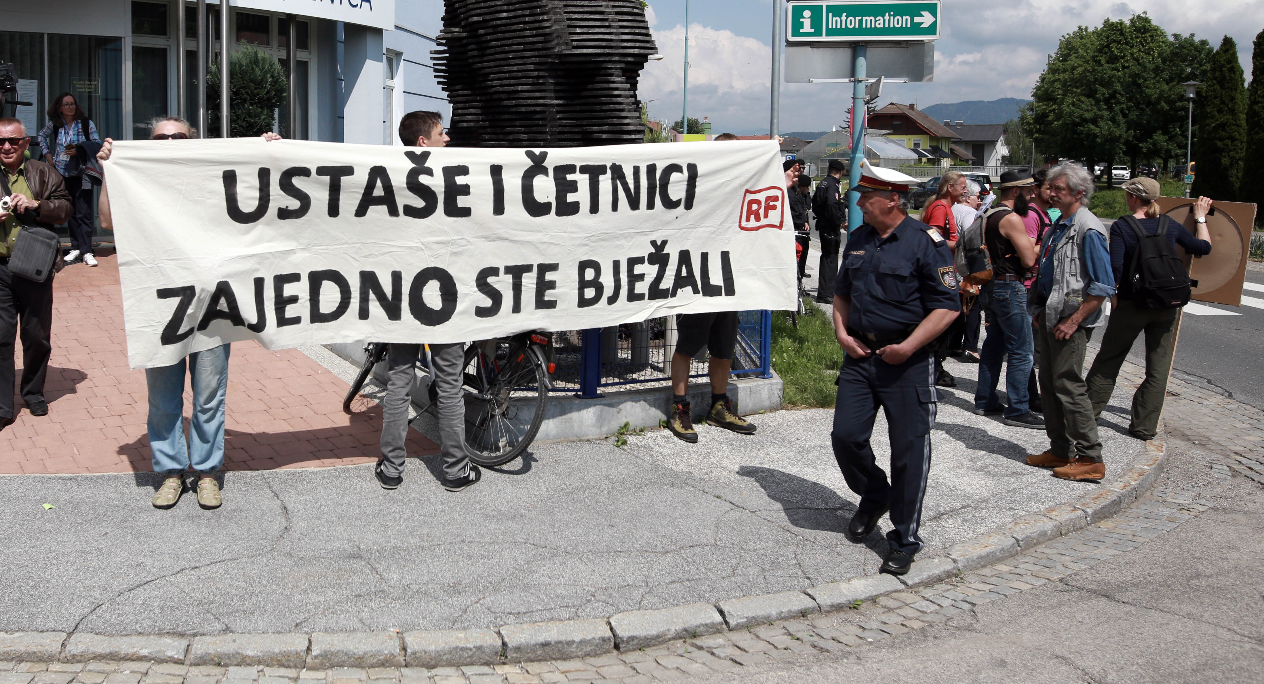 BLEIBURG Prosvjed stotinjak aktivista
