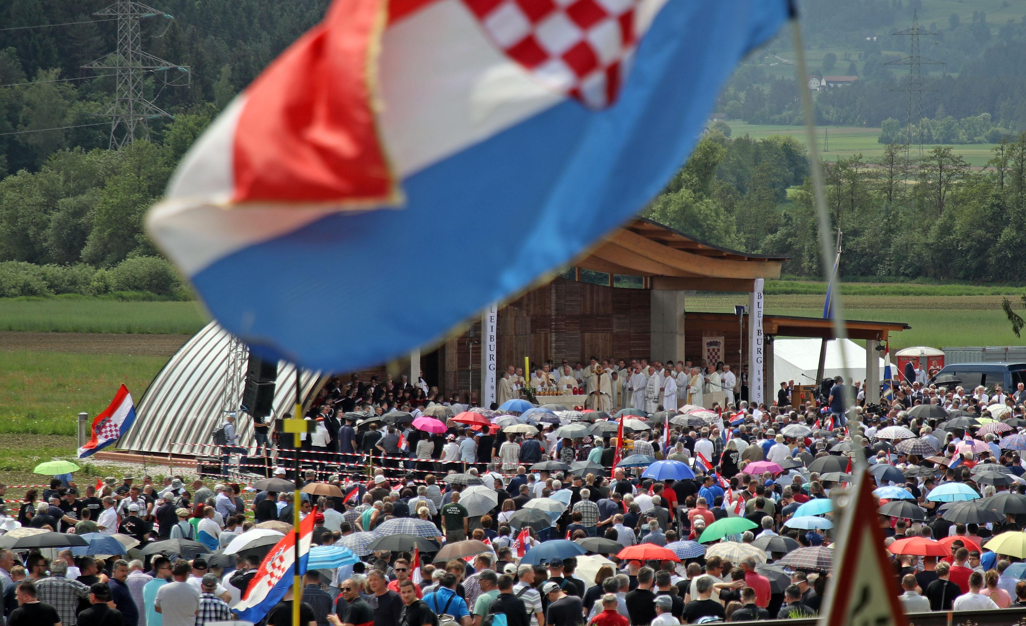 """PREVIŠE SAM POPIO"" Osuđen Hrvat uhićen na Bleiburgu"