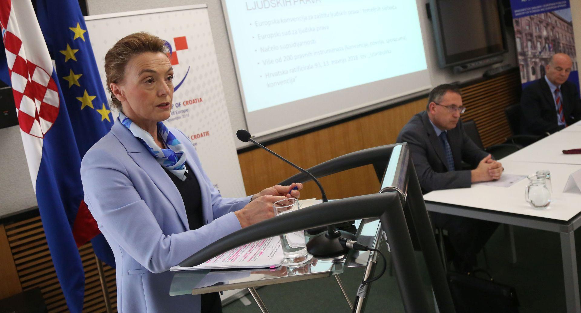 Hrvatska preuzima predsjedanje VE i zagovara Istanbulsku konvenciju