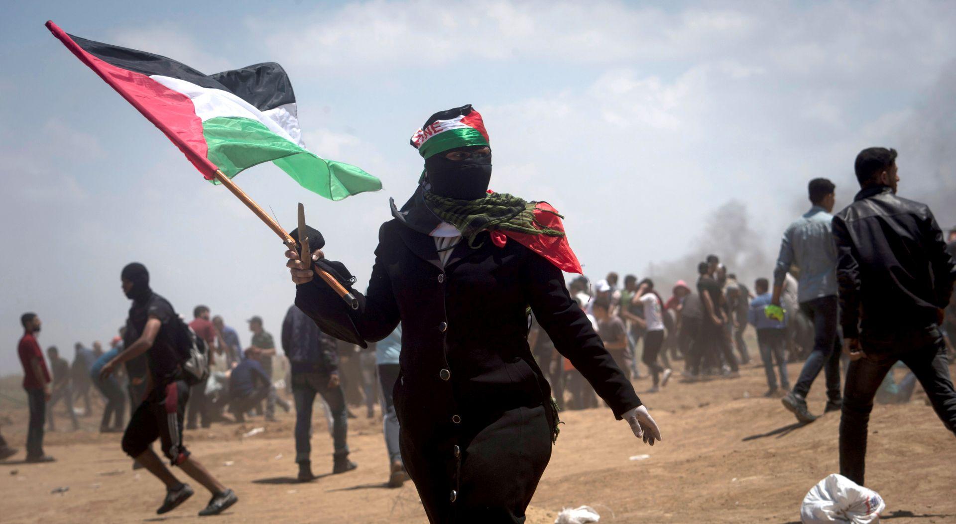 PALESTINCI OBILJEŽAVAJU 'NAKBU' U Gazi se očekuje novo nasilje